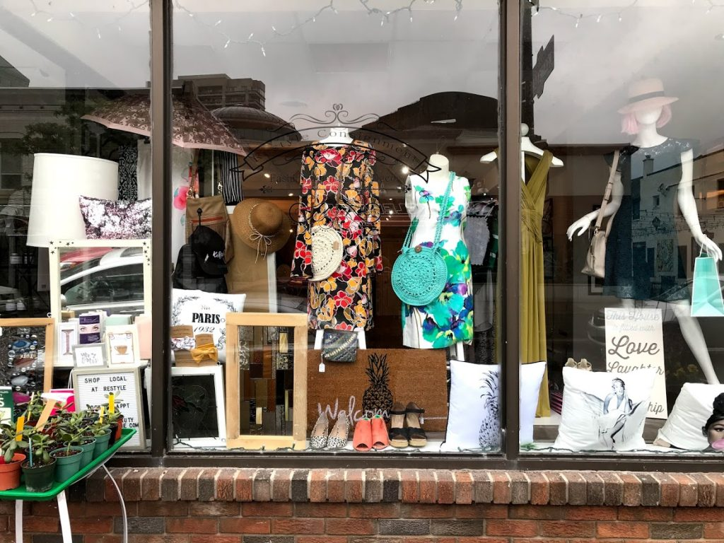 ReStyle Beauty Boutique with Woolstreet Crochet Purses