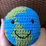 hand crocheted globe