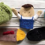 hand knit and crochet puppets and amigurumi