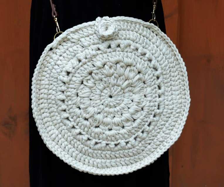 Crochet Circle Purse