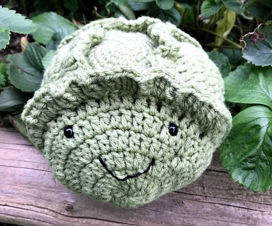 Crochet Lettuce